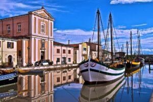 Cesenatico - Porto Canale di Leonardo